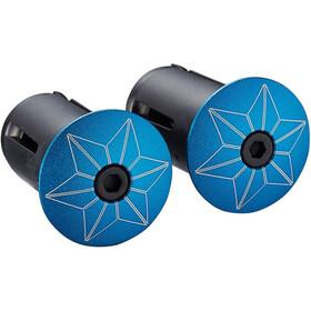 Supacaz Super Sticky Kush Starfade Handlebar Tape, neon blue